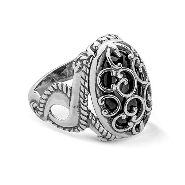 Carolyn Pollack Sterling Silver Size 5 to 10 Twist Ring