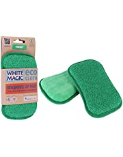 White Magic WM-MFWP-F Washing Up Pad, Forest