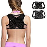 - Getting Your Customized Perfect Fit With The Fitted Elastic Straps. - Feeling your shoulders aligned to their Correct Position and your Muscles Relax - Training Your Back To Find Its Perfect PostureCOMFORTABLE TO WEAR: - At Study, Exercisin...