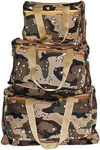 Desert Home Camping Duffle Bag Set, 3 Pcs, Multi Color - cmp-dfl 786