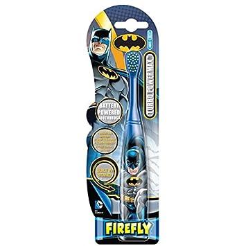 Cepillo de dientes electrico a pilas de Batman: Amazon.es: Juguetes y juegos