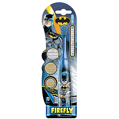 Amazon.com: Justice League Turbo Power Battery Powered Toothbrush Soft: Beauty