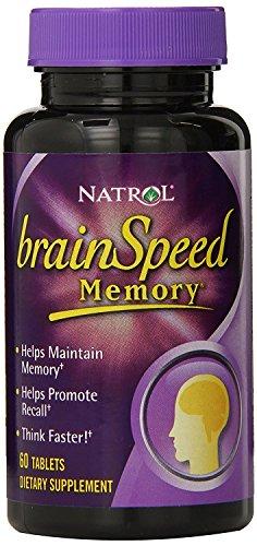 Natrol BrainSpeed Memory Tablets Count