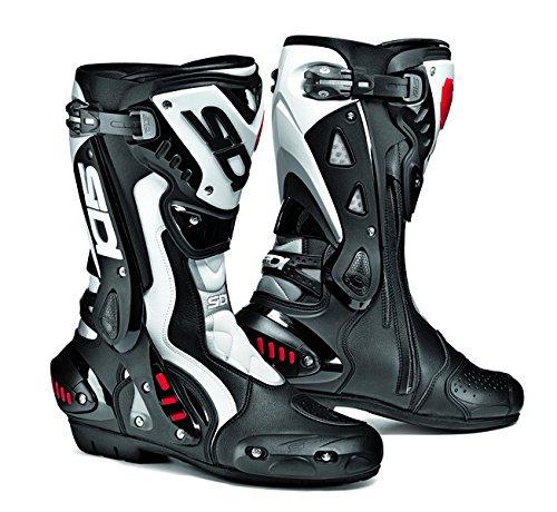 White Motorbike Boots - 6