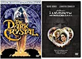 Labyrinth + The Dark Crystal Adventures 25th Anniversary 2 DVD Animated Fantasy Set Family Movies