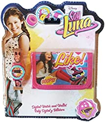 Soy Luna Disney Digital Watch and Wallet Set Original