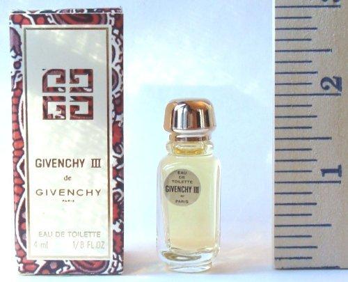 (Givenchy III By Givenchy for Women 4ml 1/8oz Miniature Eau De Toilette Splash )