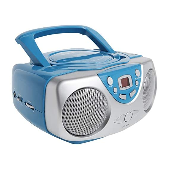 Sylvania SRCD243 Portable CD Player with AM/FM Radio