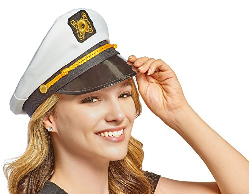 NJ Novelty Yacht Captain Hat Skipper Sailor Adult Costume Accessory, Set of 2 Hats by NJ Novelty (Image #2)