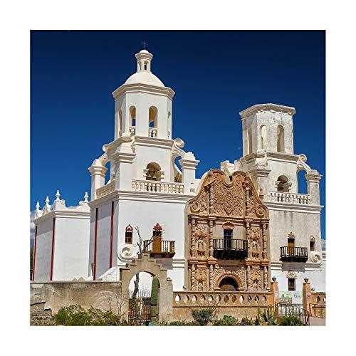 Trademark Fine Art Mission San Xavier del Bac Arizona 2 by Mitch Catanzaro, 14x14
