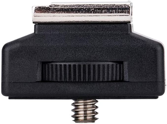 JJC Plug Hot Shoe Adapter 1//4 20 Thread with Lock and Cold Flash JU0122