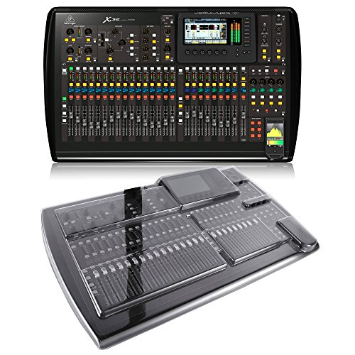 Behringer X32 Digital Mixing Console with Decksaver Mixer Cover (X32)