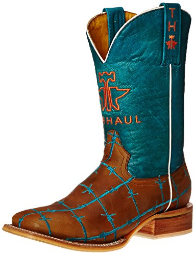 Tin Haul Shoes Women's Barb'd Wire Western Boot - Tan & T...