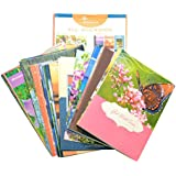 B-THERE Moments to Treasure - Assorted All Occasion Greeting Cards with KJV Scripture, 48 Count