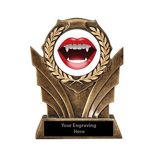 Halloween Sexiest Costume Victory Resin Trophy (The Sexiest Halloween Costumes)