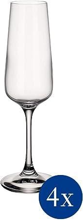 Atemporal Copa de cava de cristal de calidad para la vida cotidiana o las ocasiones especiales, idea