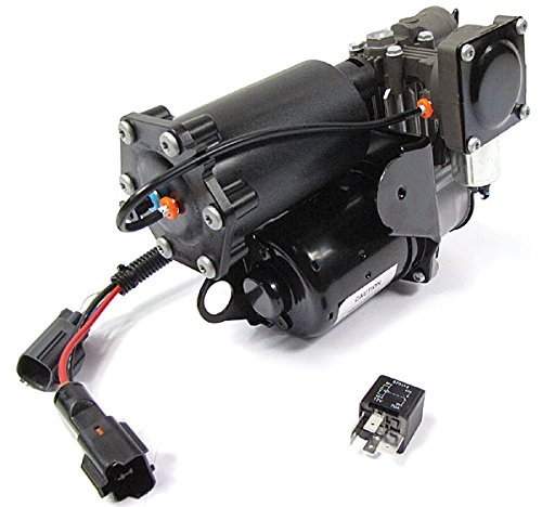 (Hitachi OEM Land Rover LR023964 EAS Air Suspension Compressor for LR3, LR4, and Range Rover Sport)