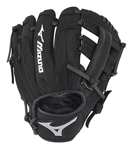 "Mizuno GPP900Y3 Prospect Series PowerClose Baseball Gloves, 9"", Right Hand Throw"
