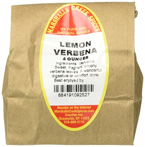 (Marshalls Creek Spices Lemon Verbena Loose Leaf Tea, 4 Ounce)