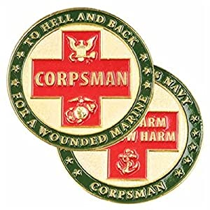 US Navy Do No Harm Corpsman Marine Challenge Coin
