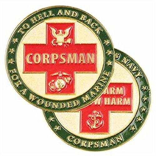 US Navy Do No Harm Corpsman Marine Challenge Coin
