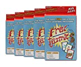 American Educational Fractazmic Fractions Card Game (5 Piece Set)