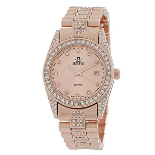 Jean Paul Quartz Metal and Alloy Watch, Color:Rose Gold-Toned (Model: 28332) Gold Dakota Rose