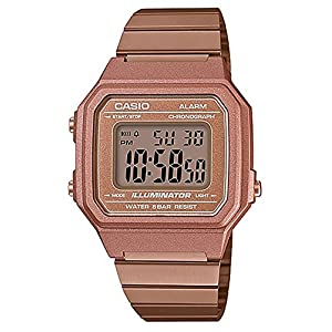 Casio Unisex Core Classic B650WC-5A Vintage Watch Rose Gold