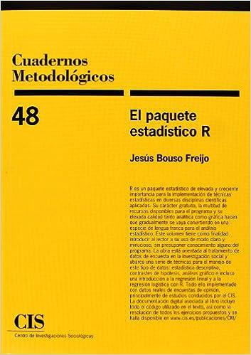 El paquete estadístico R (Cuadernos Metodológicos): Amazon ...
