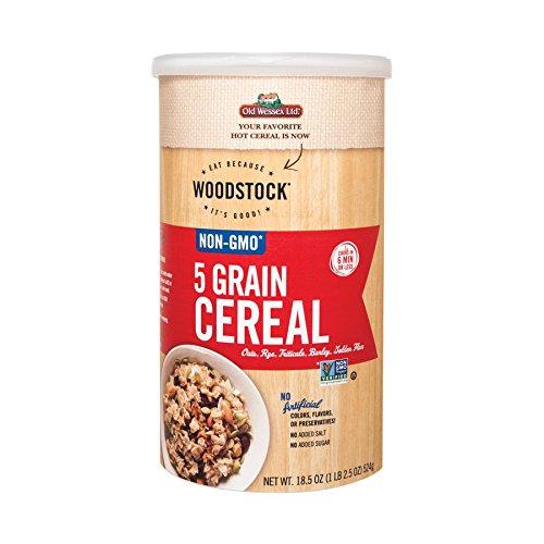 5 Grain Cereal (Woodstock 5 Grain Cereal - 18.5 oz.)
