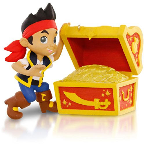 Hallmark Keepsake Ornament: Disney Jake and the Never Land Pirates Going on a Treasure Hunt