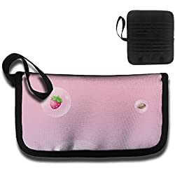 Credit Card Holder Bag Case Cake Candy Strawberry Travel Clutch Coin Purse Wallet Storage Bag