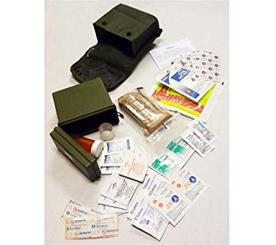 Elite 1st Aid First Aid Kit, Individual (IFAK) (Olive Drab), ALICE Compatible F102C from Elite 1st Aid