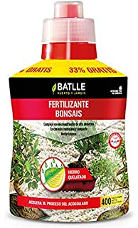 Abonos - Fertilizante Bonsais Botella 400ml - Batlle