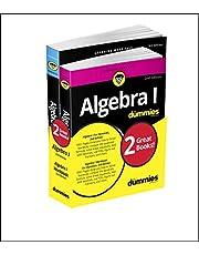 Algebra I For Dummies Book + Workbook Bundle