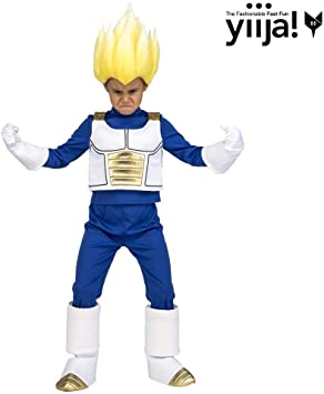 My Other Me Me Me- Saiyan Vegeta Dragon Ball DISFRAZ Multicolor ...