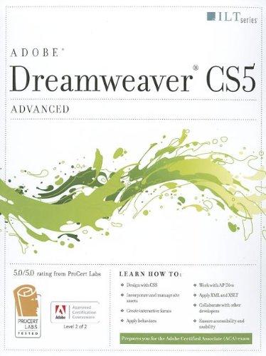 Dreamweaver Cs5: Advanced, Aca Edition