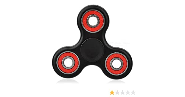 Tiempo de Spin 1-3 Minutos Exclusivo Rojo y Azul Fidget Hand Spinner Alivio de Estr/és Reductor de Estr/és Christmas Concepts/® Autismo