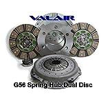 3. Valair NMU70G56-01 Performance G56 Spring Hub Dual Disc Clutch