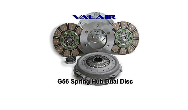 Valair rendimiento G56 primavera hub doble disco de embrague (cerámica): Amazon.es: Coche y moto
