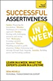img - for Successful Assertiveness in a Week (Teach Yourself Series) book / textbook / text book