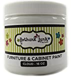 #5: Rethunk Junk by Laura Furniture & Cabinet Paint (Pint, Cloud)