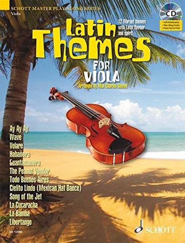 Latin Themes for Viola (Schott Master Play-along Series) PDF