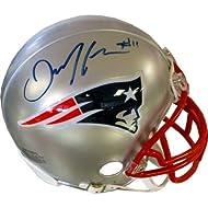 Julian Edelman Autographed New England Patriots Mini Helmet Review ... 128fe1280