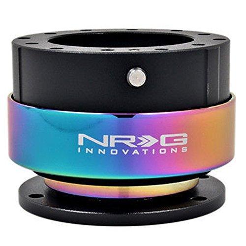 NRG SRK-200BK-MC Steering Wheel Quick Release Kit Gen 2.0 Bl