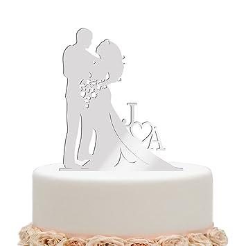 Vspg Brauch Acryl Hochzeit Cake Topper Personalisiert Braut