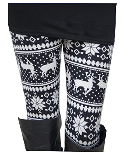 Top-Mode San Francisco verkauft Yidarton Damen Leggings Winter Skinny Drucken Stretchy Hosen ...