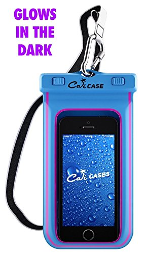 size 40 c44d9 3c403 CaliCase Extra Large Waterproof Floating Case - Blue Glow in - Import ...