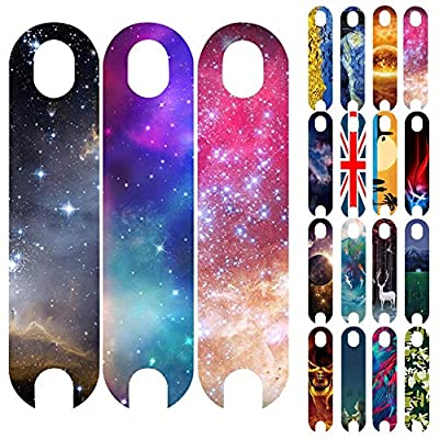 dissylove Scooter Grip Tape Galaxy Stunt Scooter Self Adhesive Grip Tape Waterproof Personality Sandpaper Fits Most Electric Scooter: Toys & Games