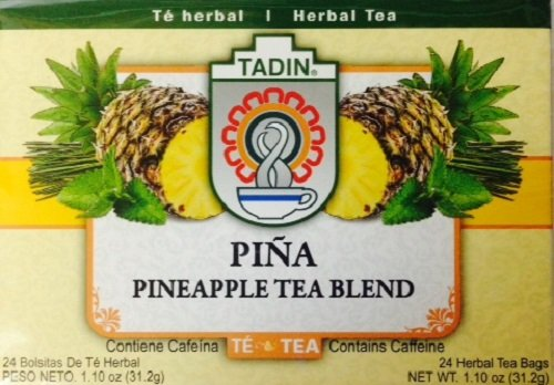(Tadin Herb and Tea Pineapple Diet Detox, 24 Count)